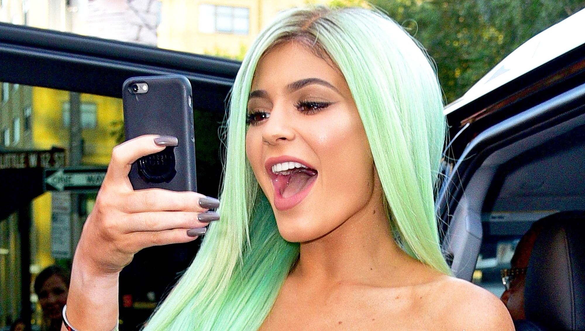 Kylie Jenner seen on the streets of Manhattan on September 16, 2015 in New York City.