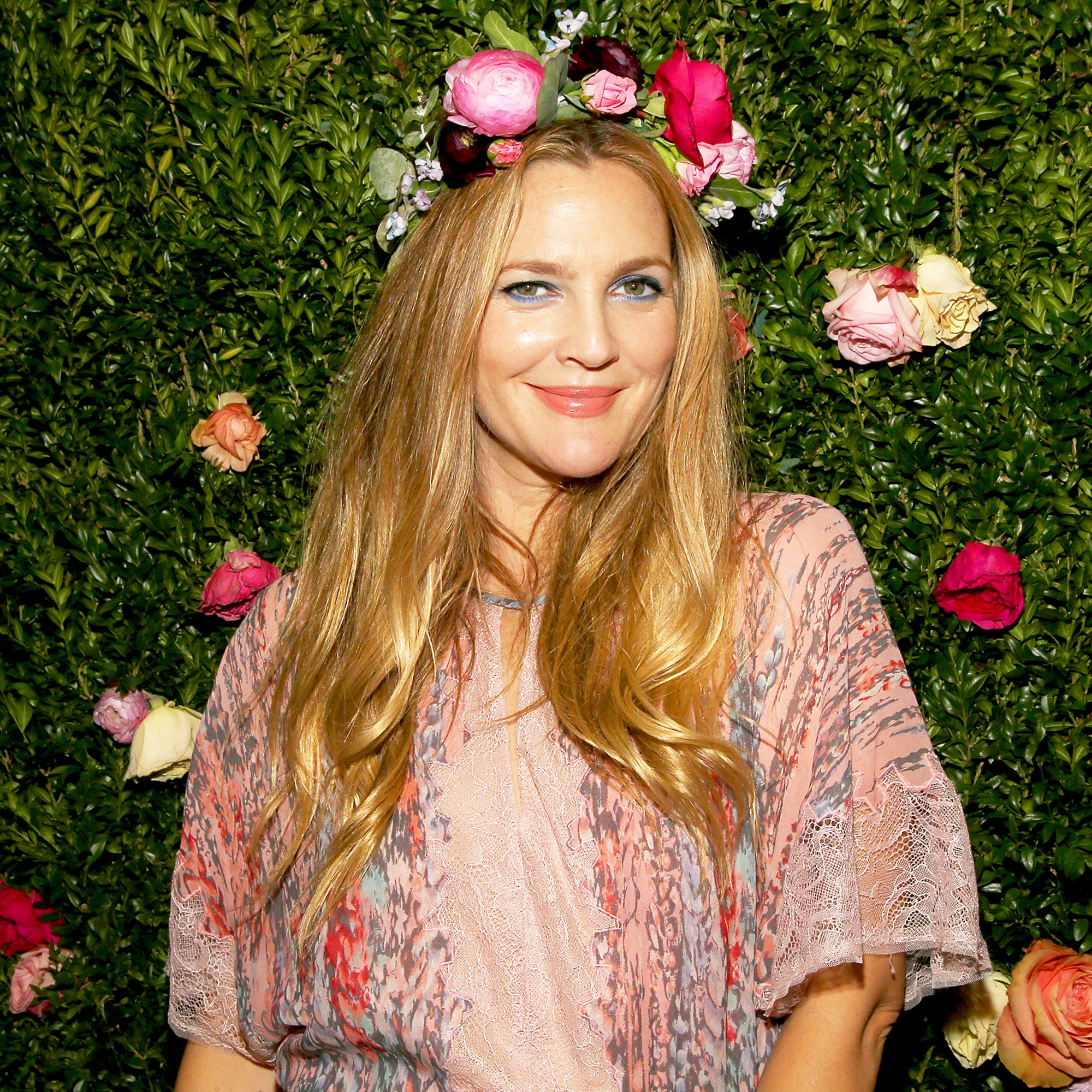 Drew Barrymore attends the 3rd Annual Beautycon Festival New York at Pier 36 in New York City.