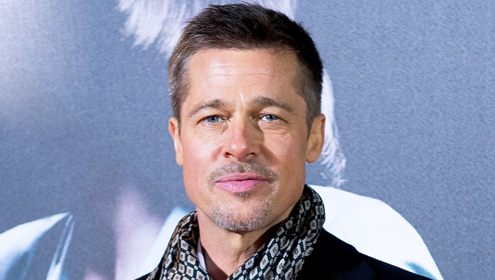 Brad Pitt attends the Madrid 2016 premiere of the Paramount Pictures title 'Allied' at Callao City Lights in Madrid, Spain.