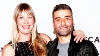 """Oscar Isaac and Elvira Lind attend the """"Bobbi Jene"""" Premiere during 2017 Tribeca Film Festival at Cinepolis Chelsea in New York City."""
