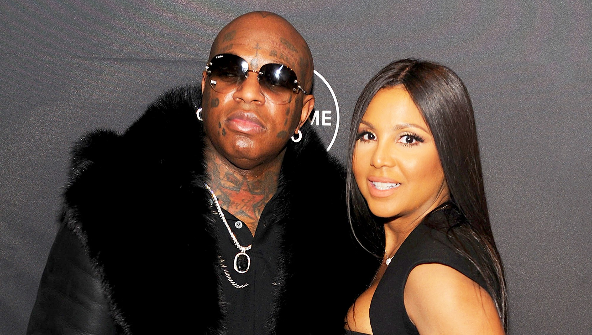 """Birdman and Toni Braxton attends Lifetime""""s Film,""""Faith Under Fire: The Antoinette Tuff Story"""" red carpet 2018 screening and premiere event at NeueHouse Madison Square in New York City."""