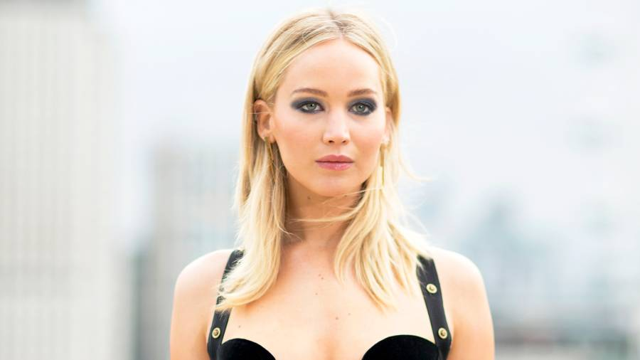 Jennifer Lawrence during the 'Red Sparrow' photocall at The Corinthia Hotel on February 20, 2018 in London, England.