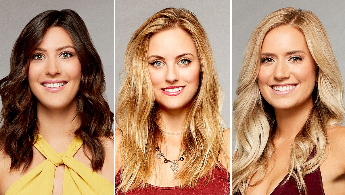 Becca, Kendall, and Lauren B. on The Bachelor