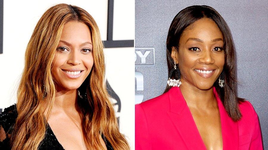 Beyonce and Tiffany Haddish