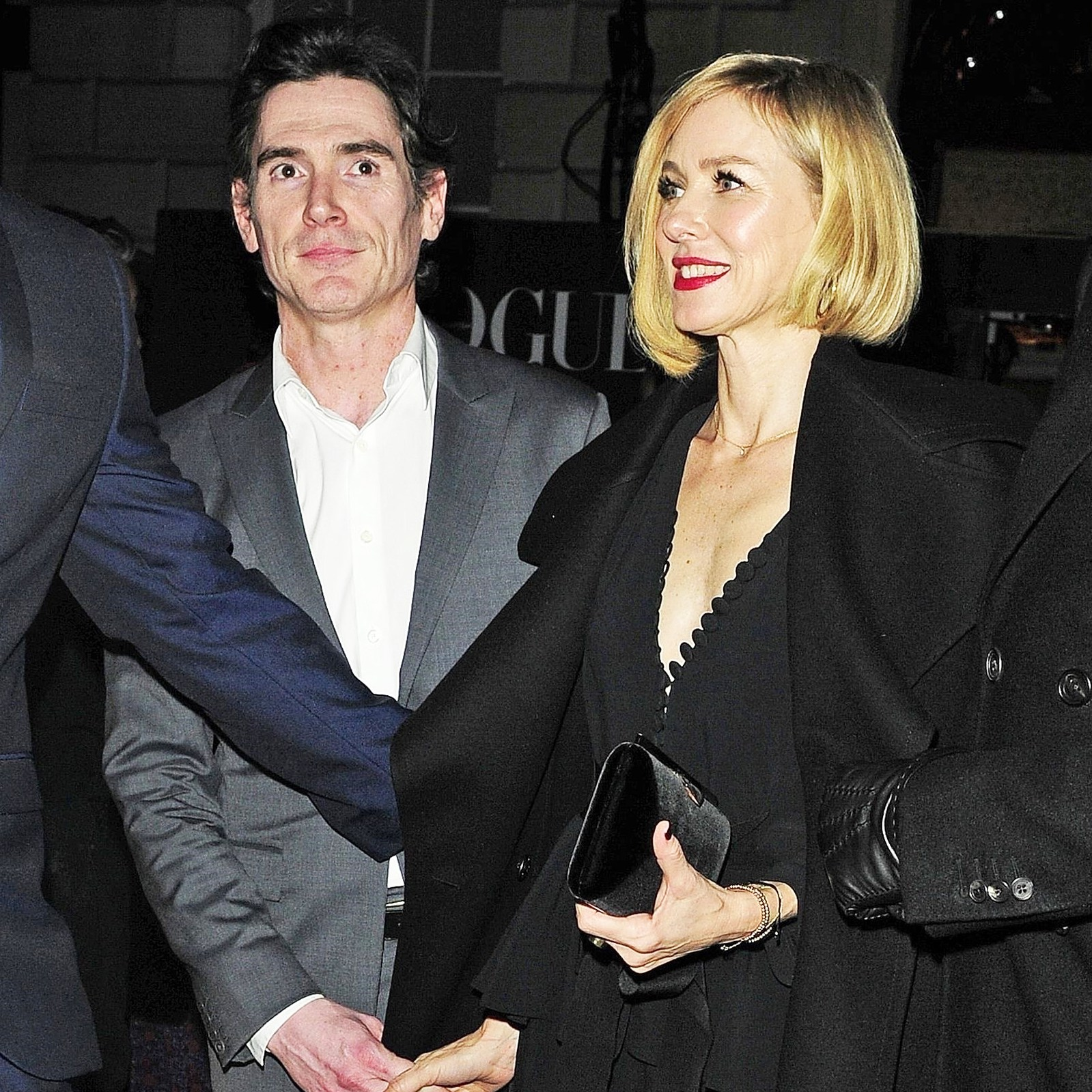 Billy Crudup Naomi Watts holding hands