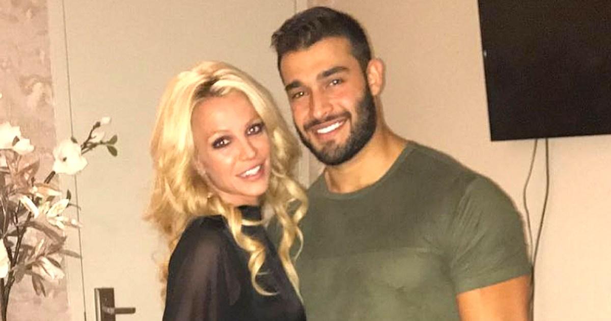 Britney Spears Is 'Very Happy' With Boyfriend Sam Asghari
