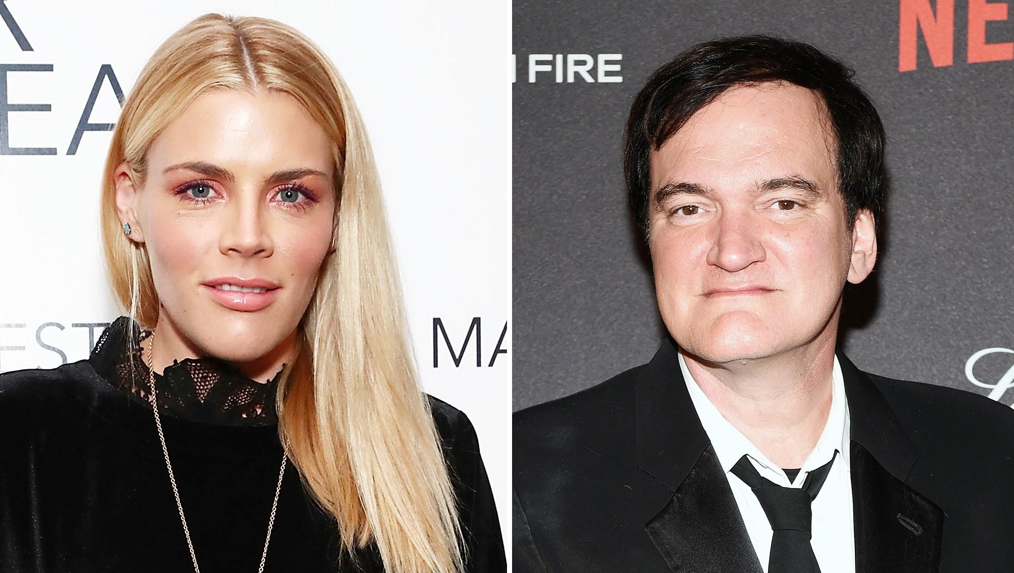 Busy Philipps Quentin Tarantino