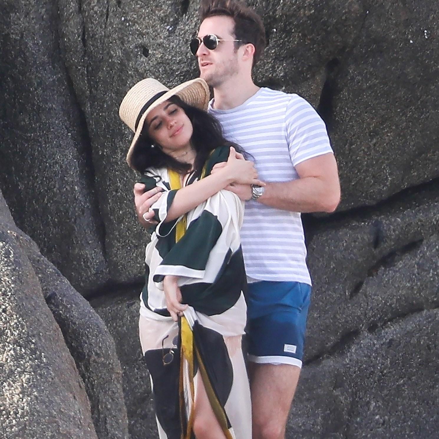 Camila Cabello, Matthew Hussey, Dating Coach, Kiss, Cabo San Lucas, Mexico
