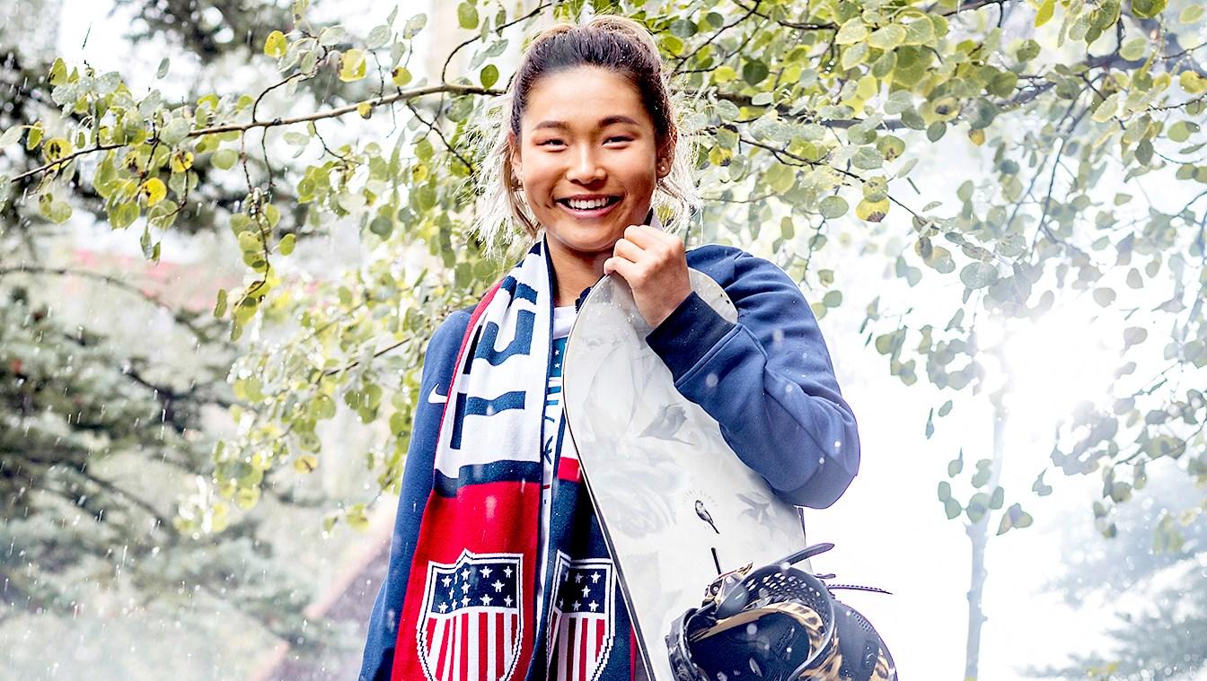 U.S. Olympic Snowboarder Chloe Kim