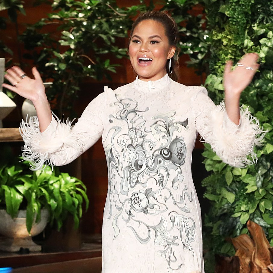 Chrissy Teigen Reveals Due Date