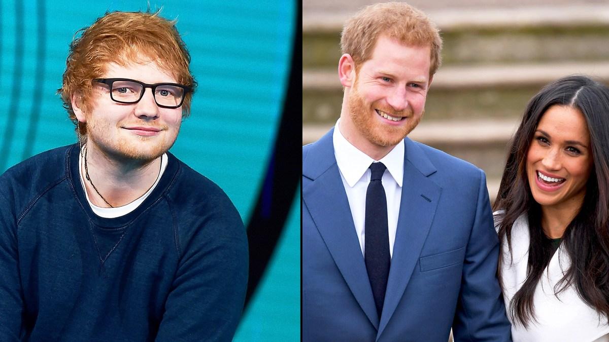 Prince Harry Asked Ed Sheeran to Perform at Royal Wedding to Meghan ...