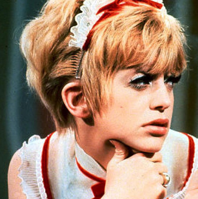 Goldie Hawn on Laugh-In.