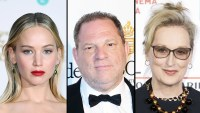 Jennifer Lawrence Harvey Weinstein Meryl Streep