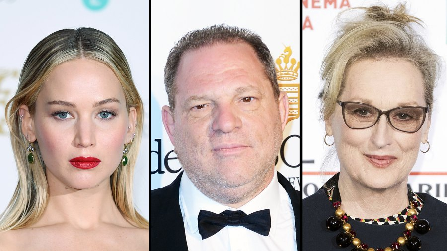 Jennifer Lawrence Harvey Weinstein Meryl Streep