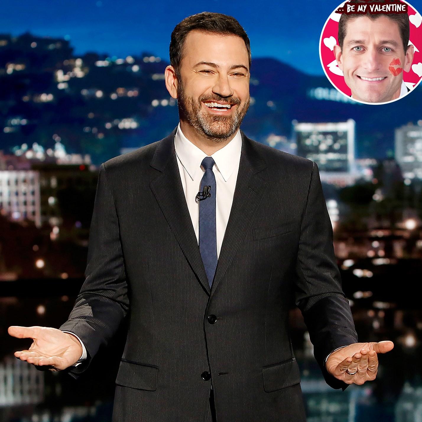Jimmy Kimmel White House Valentines Day Paul Ryan