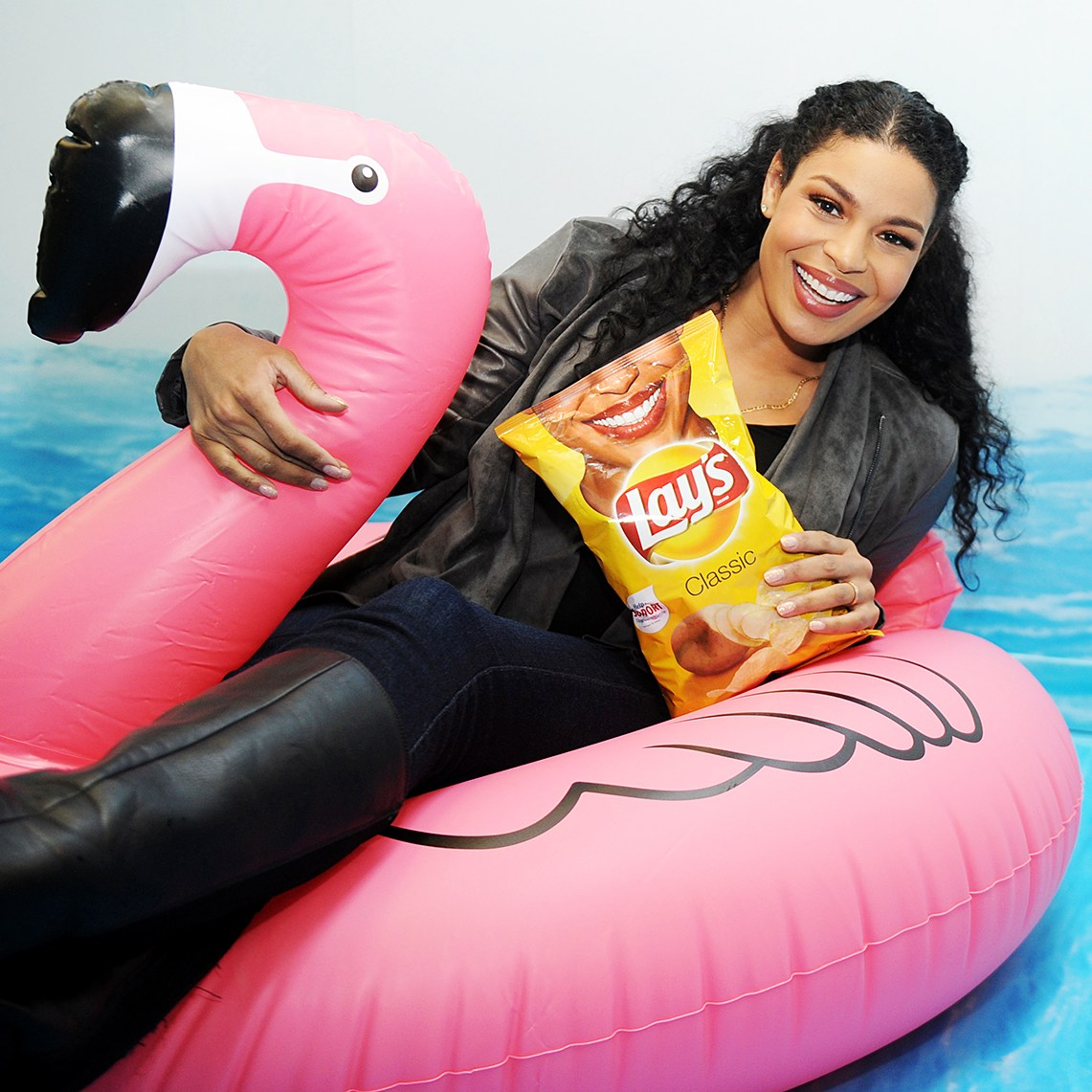 Jordin Sparks Lays Smiles Experience