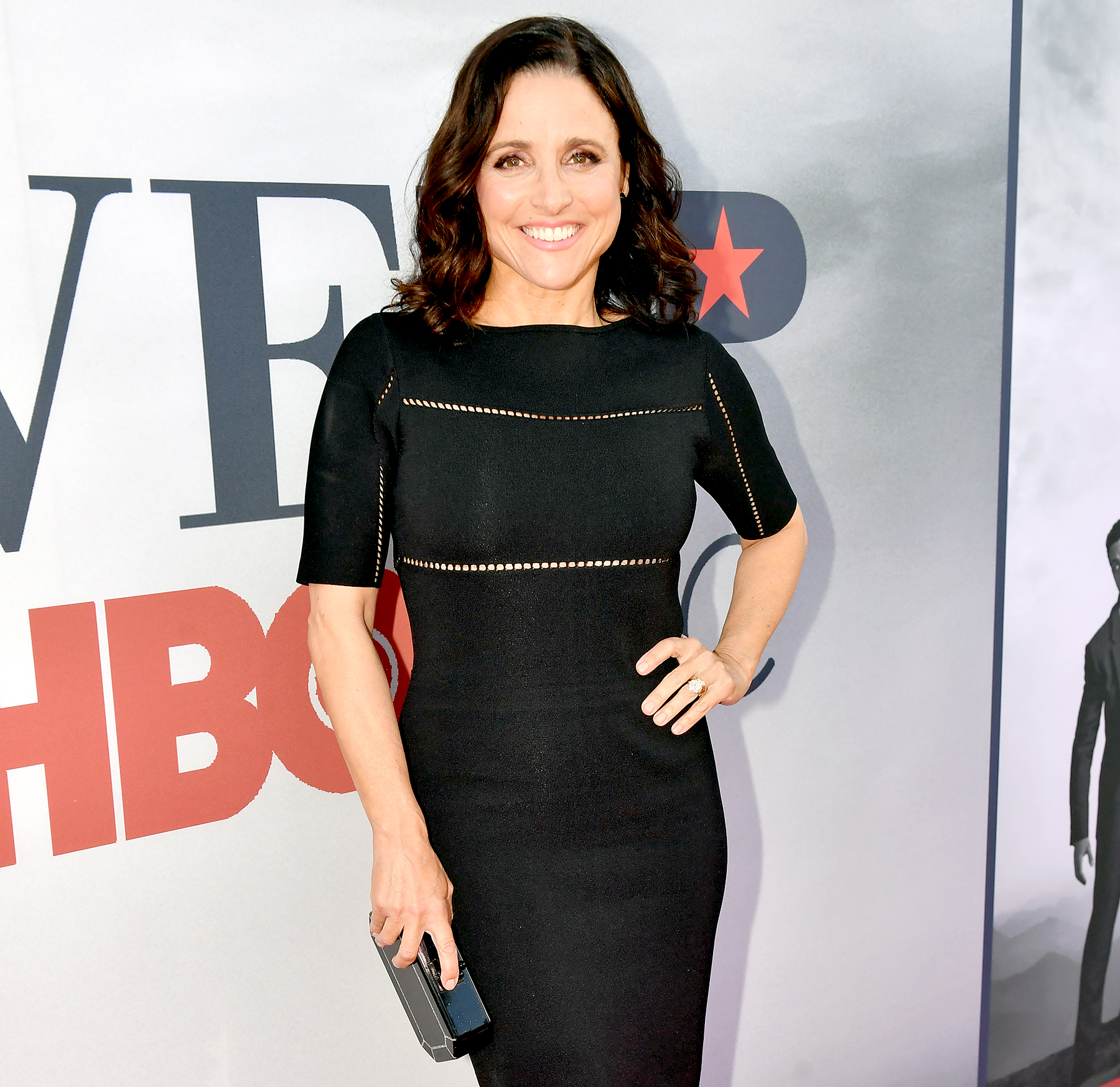 Julia Louis-Dreyfus 'ready to rock' after breast-cancer surgery