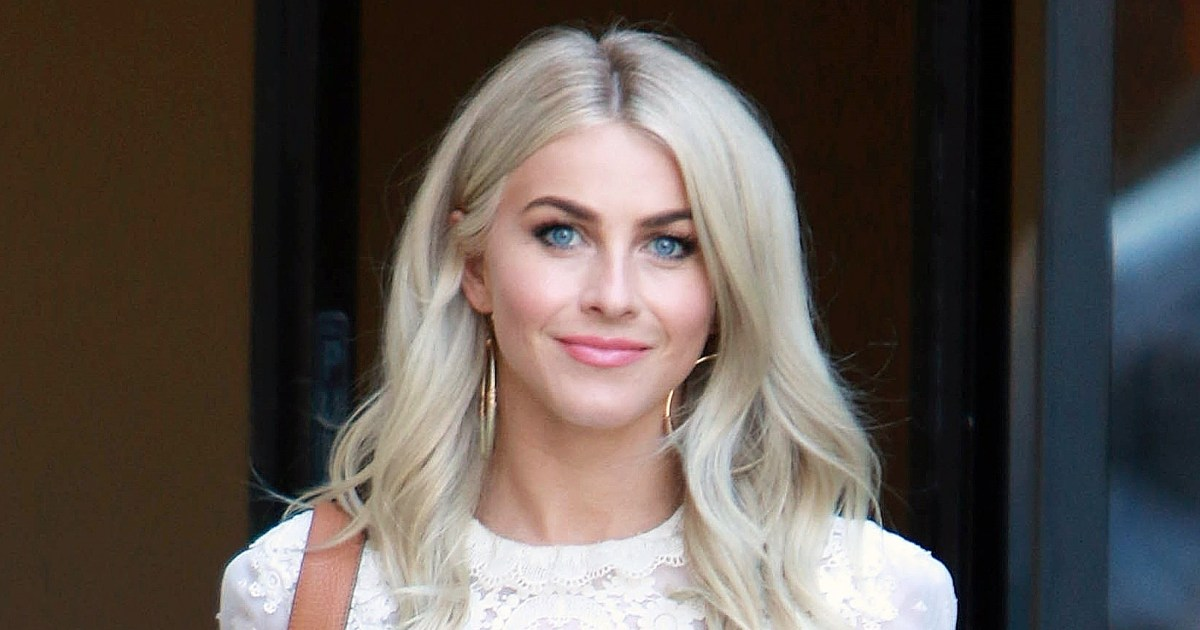 Julianne Hough Dyes Hair Color Red Details Pics