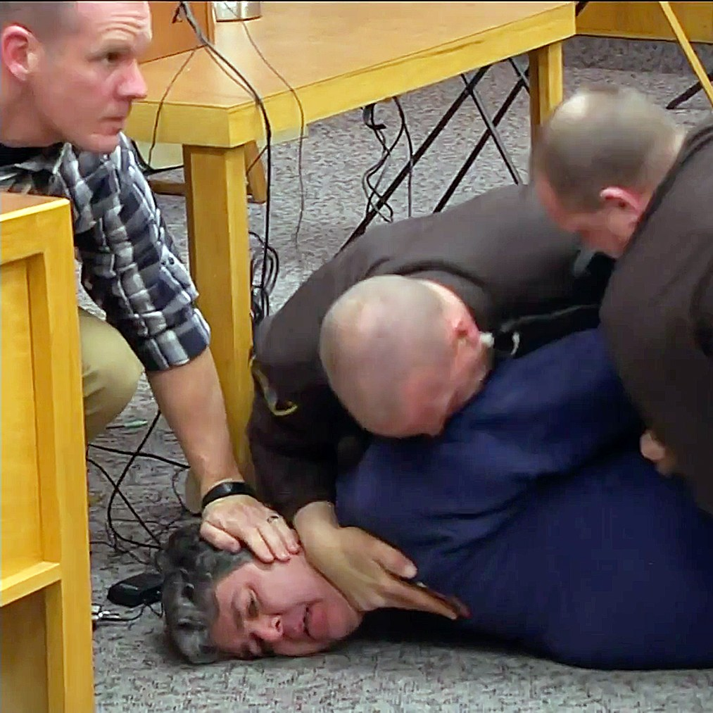 Larry Nassar attacked