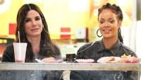 Fast Food Sandra Bullock Rihanna Papaya Dog