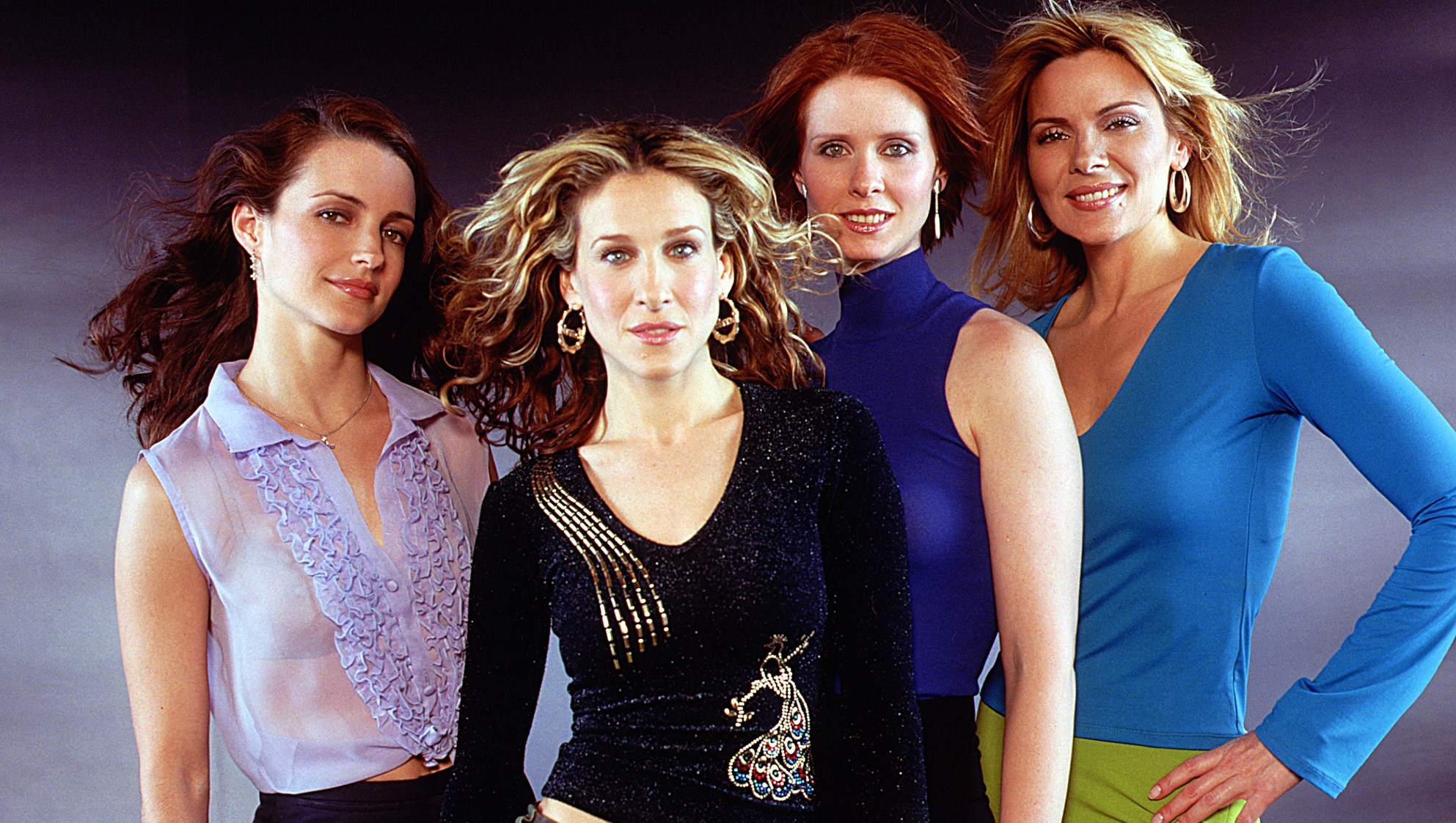 Kristin Davis, Sarah Jessica Parker, Cynthia Nixon and Kim Cattrall Sex and the City