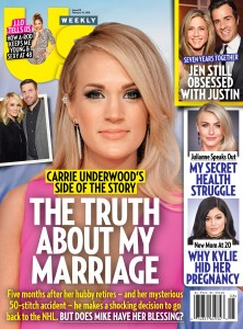 Us Weekly cover Carrie Underwood