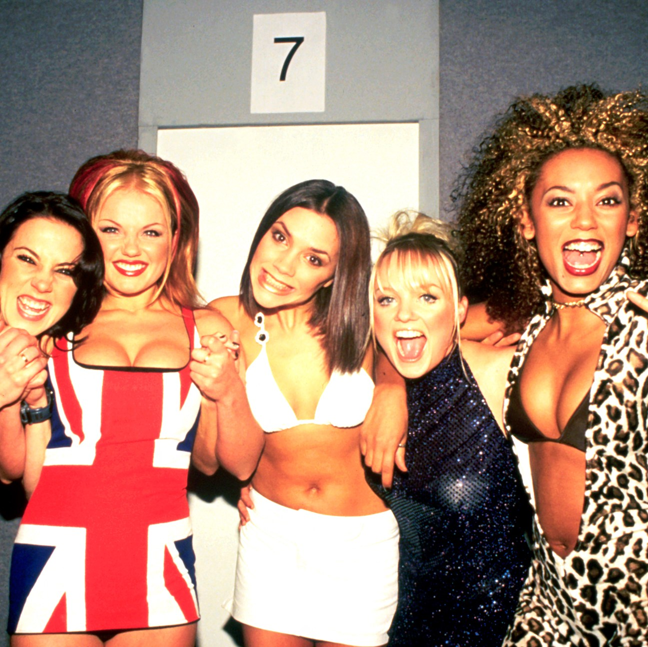 Spice Girls attend the Brit 2007 Awards on February 24, 1997.