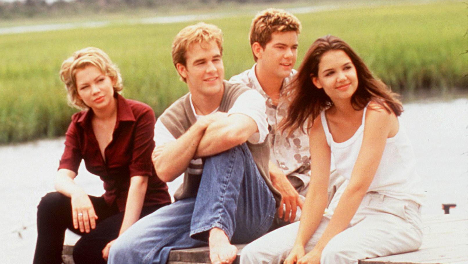 'Dawson's Creek' stars Michelle Williams, James Van Der Beek, Joshua Jackson and Katie Holmes