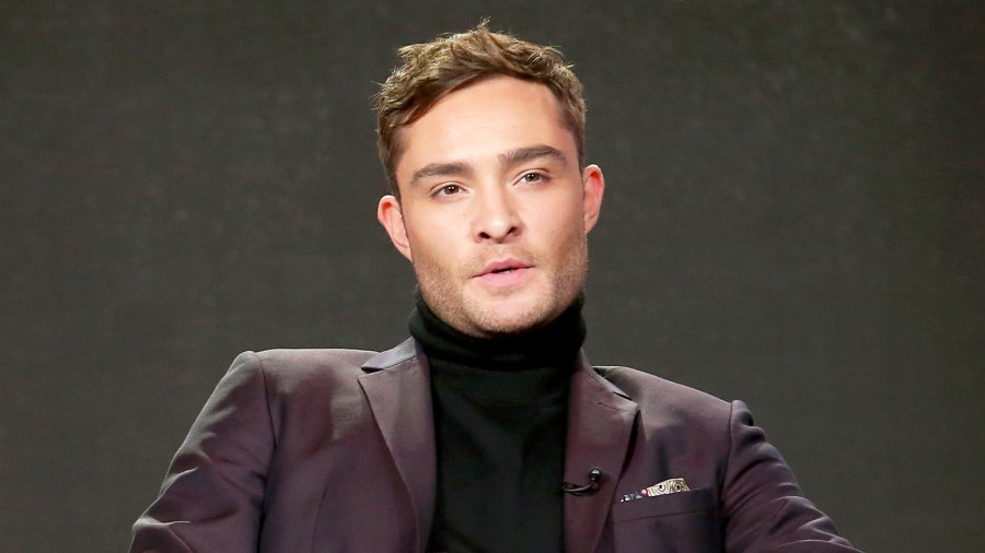 Ed Westwick attends the 2017 Winter Television Critics Association Press Tour at the Langham Hotel in Pasadena, California.