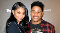 Chanel Iman and Sterling Shepard at the 2017 Rolling Stone Live: Houston presented by Budweiser and Mercedes-Benz in Houston, Texas.