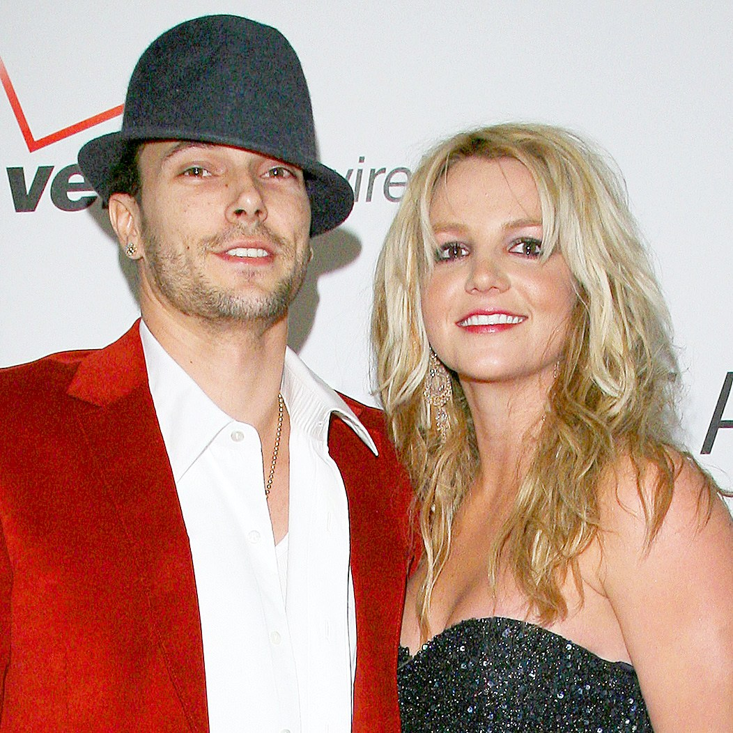 Kevin Federline and Britney Spears at the 2006 Verizon Wireless Pre-Grammy Concert at Spider at Avalon in Los Angeles, California.