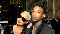 "Amber Rose and 21 Savage attend Harper's BAZAAR 2017 Celebration of ""ICONS By Carine Roitfeld"" at The Plaza Hotel in New York City"