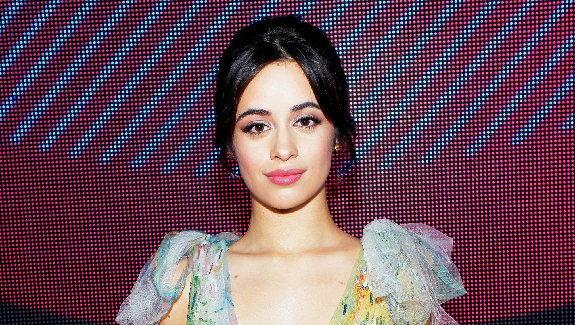 Camila Cabello attends The 18th Annual Latin Grammy Awards at MGM Grand Garden Arena in Las Vegas, Nevada.