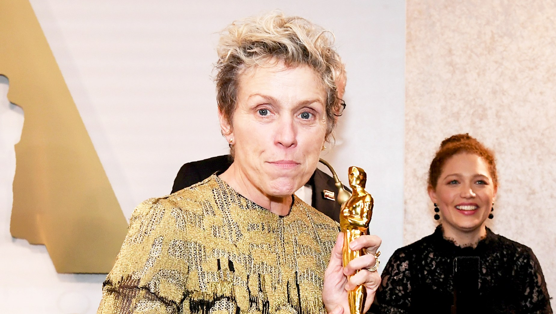 Frances McDormand attends the 90th Annual Academy Awards Governors Ball at the Hollywood & Highland Center on March 4, 2018, in Hollywood, California.