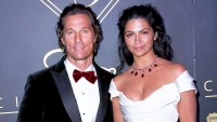 Matthew McConaughey and wife Camila Alves attend the City Gala 2018 at Universal Studios Hollywood on March 4, 2018 in Universal City, California.