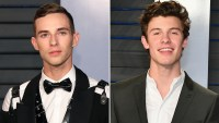 Adam Rippon and Shawn Mendes oscars 2018