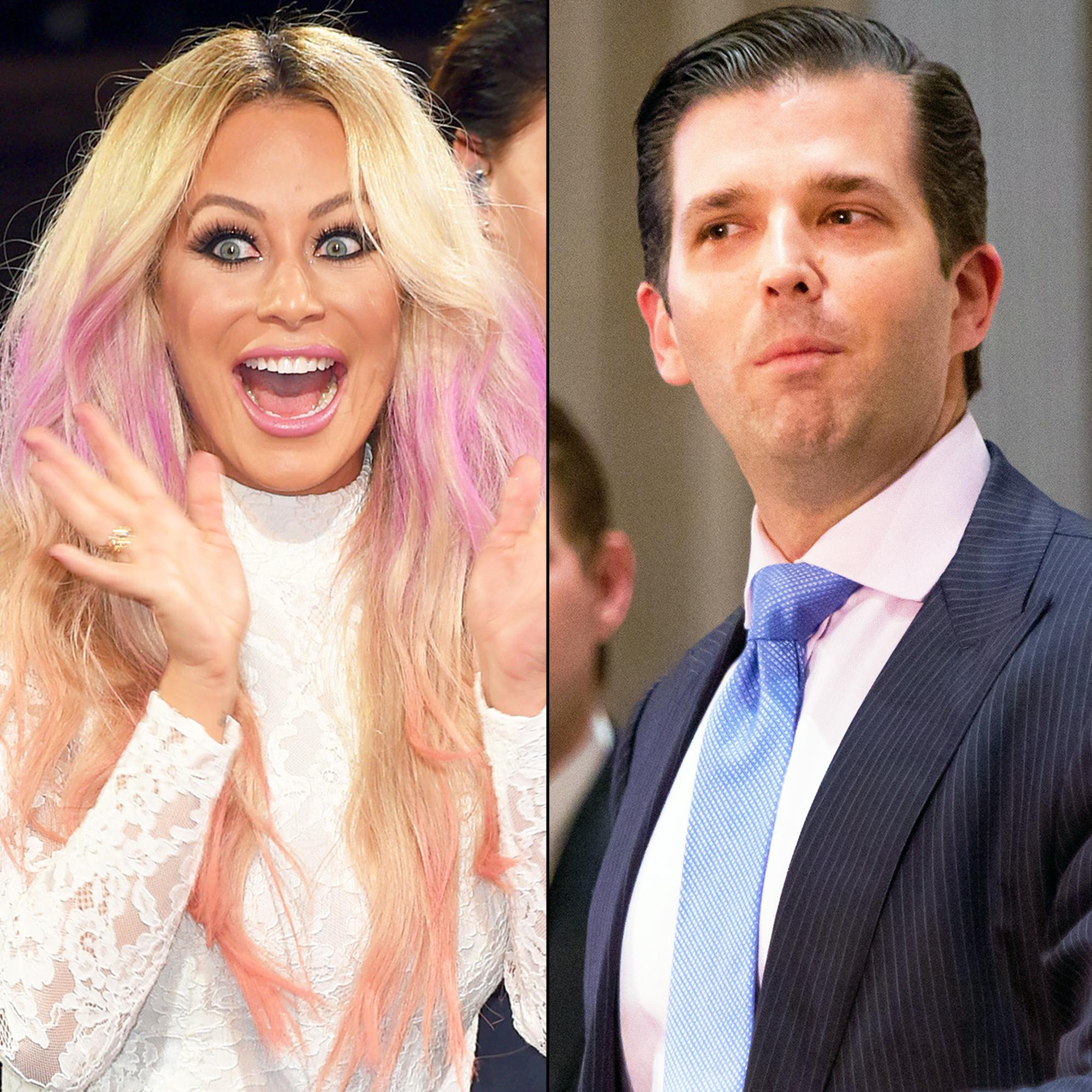 Aubrey O'Day and Donald Trump Jr.