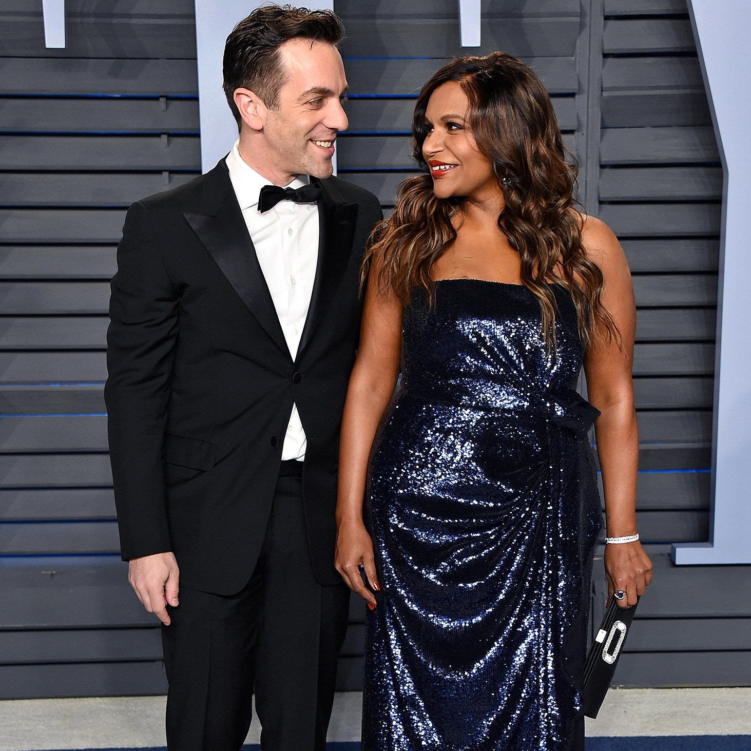BJ Novak, Mindy Kaling, Twitter, A Wrinkle in Time, 2018 Vanity Fair Oscar Party