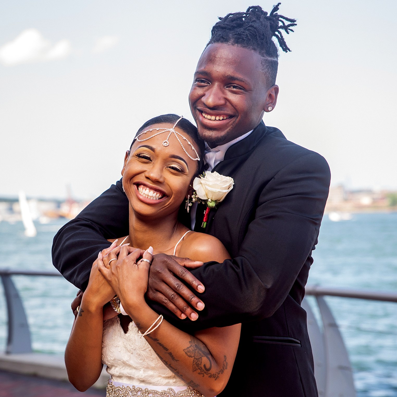 Shawniece Jackson and Jephte Pierre star in season 6 of 'Married at First Sight'
