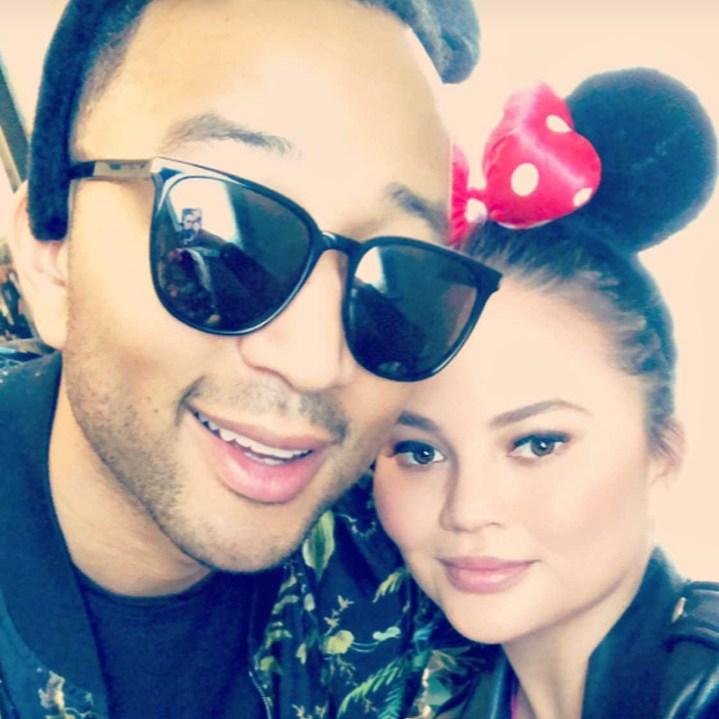 John Legend, Chrissy Teigen, Snapchat