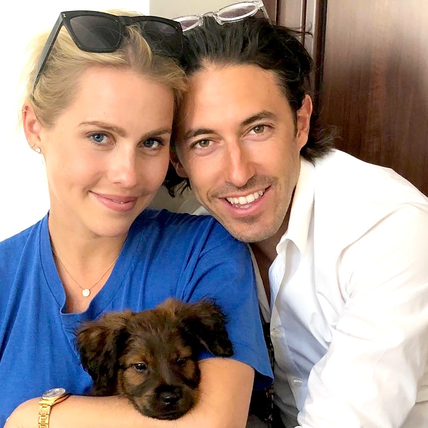 claire-holt-adopts-puppy