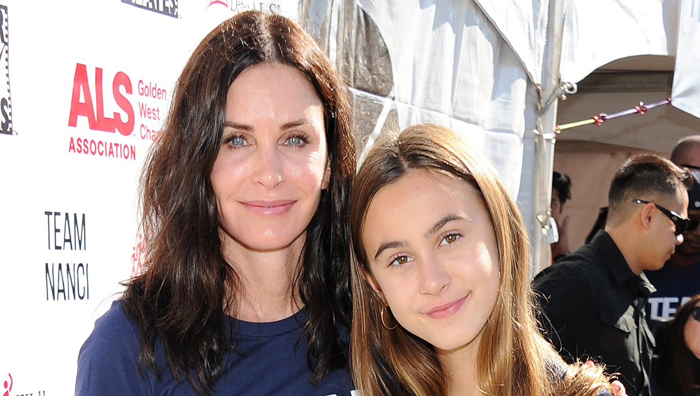 Courteney Cox Coco Arquette Valentine's Day
