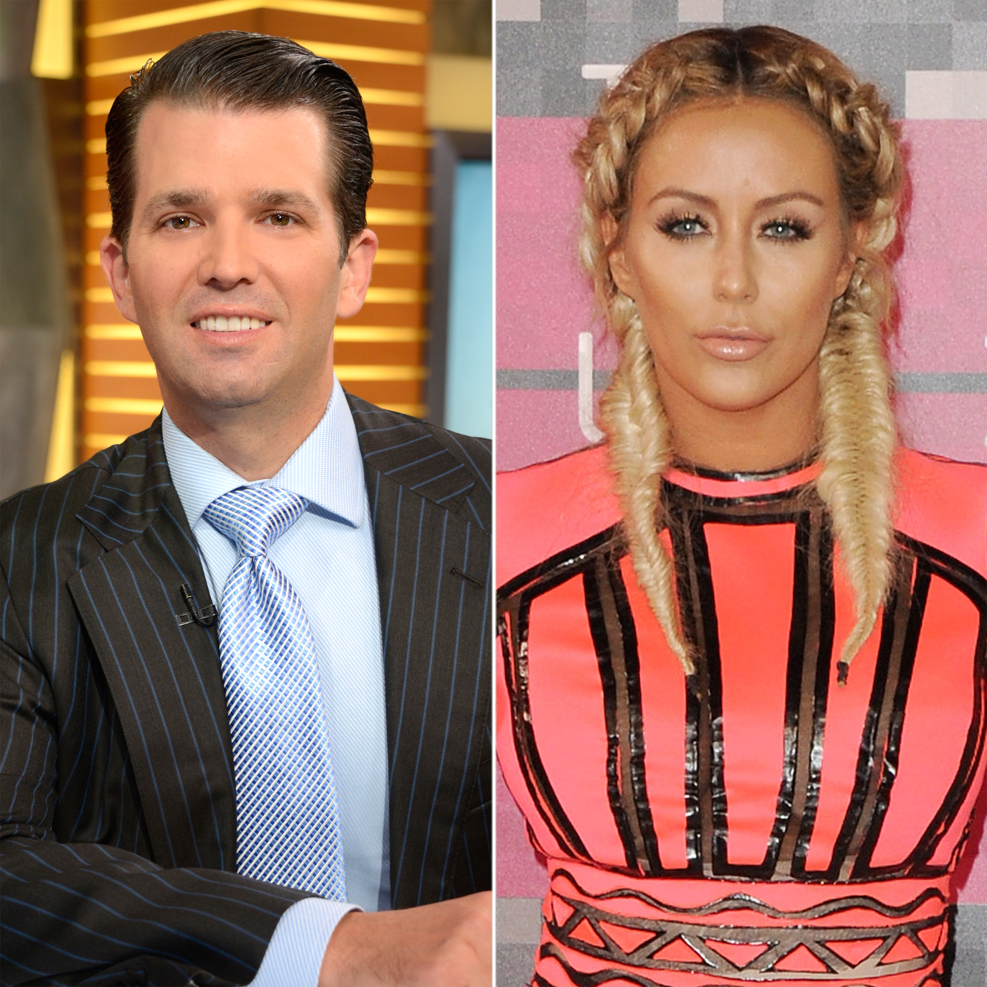 So, Is Aubrey O'Day's Song 'DJT' About Donald Trump Jr.?