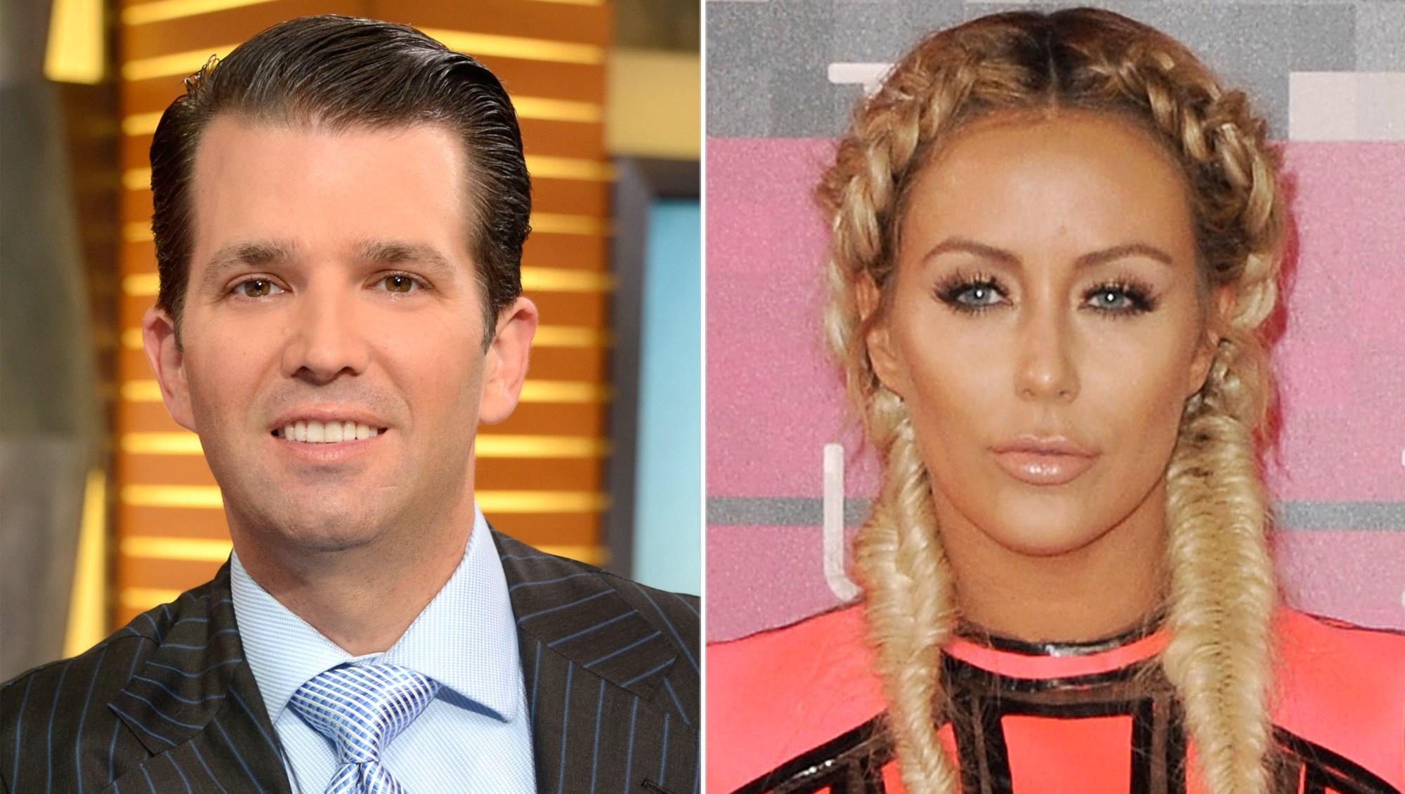 Donald Trump Jr. and Aubrey O'Day affair
