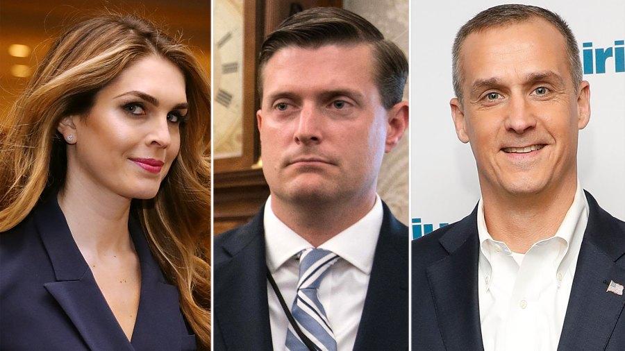 Hope Hicks, Rob Porter and Corey Lewandowski love triangle