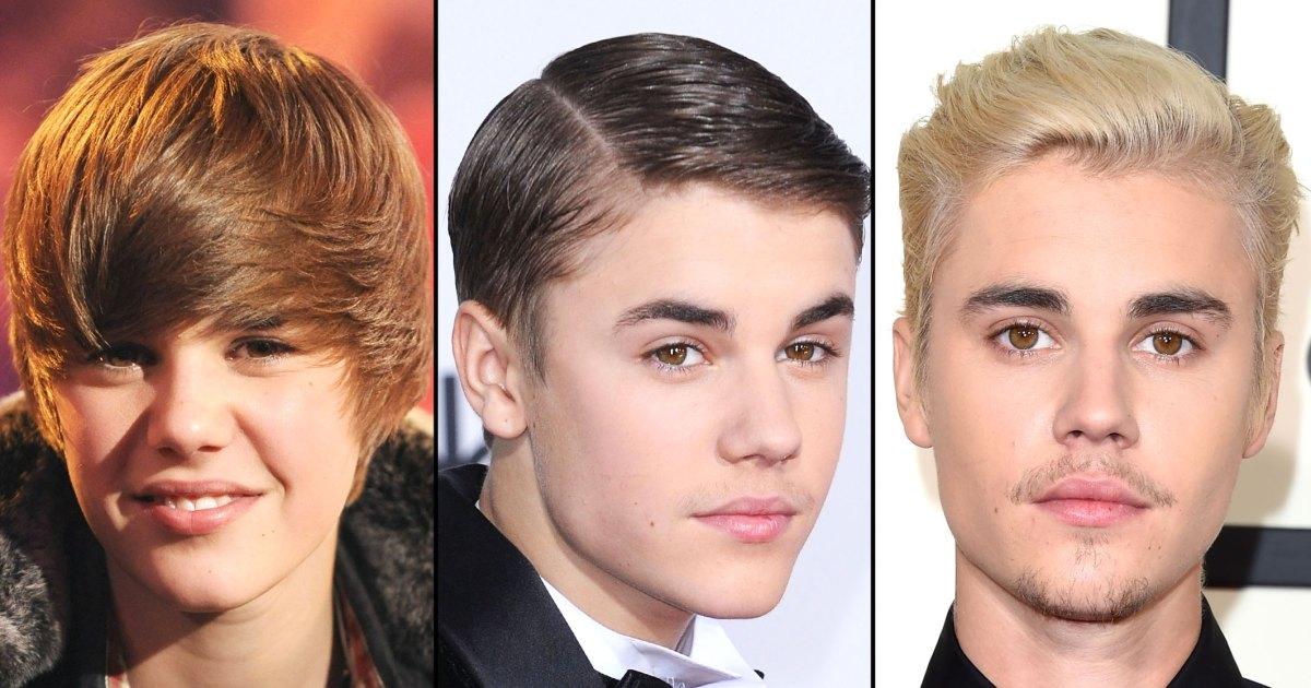 Justin Bieber Hair Change Evolution: Pics