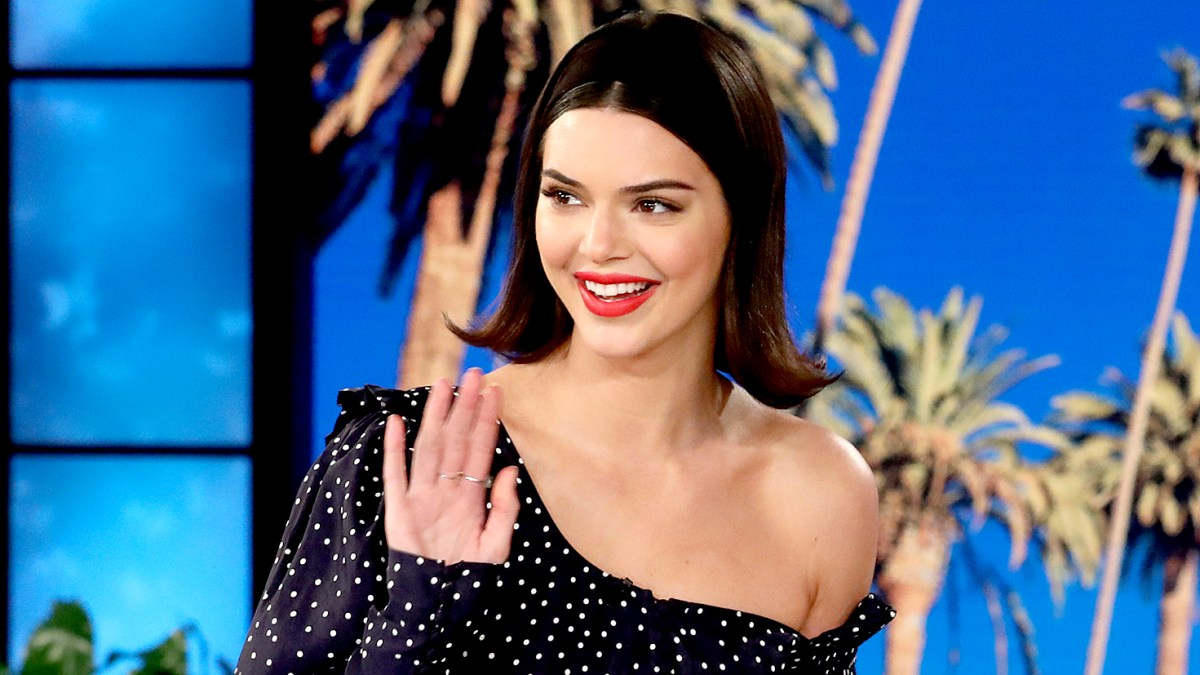 Kendall Jenner Wears Retro Bob Hairstyle On The Ellen Show