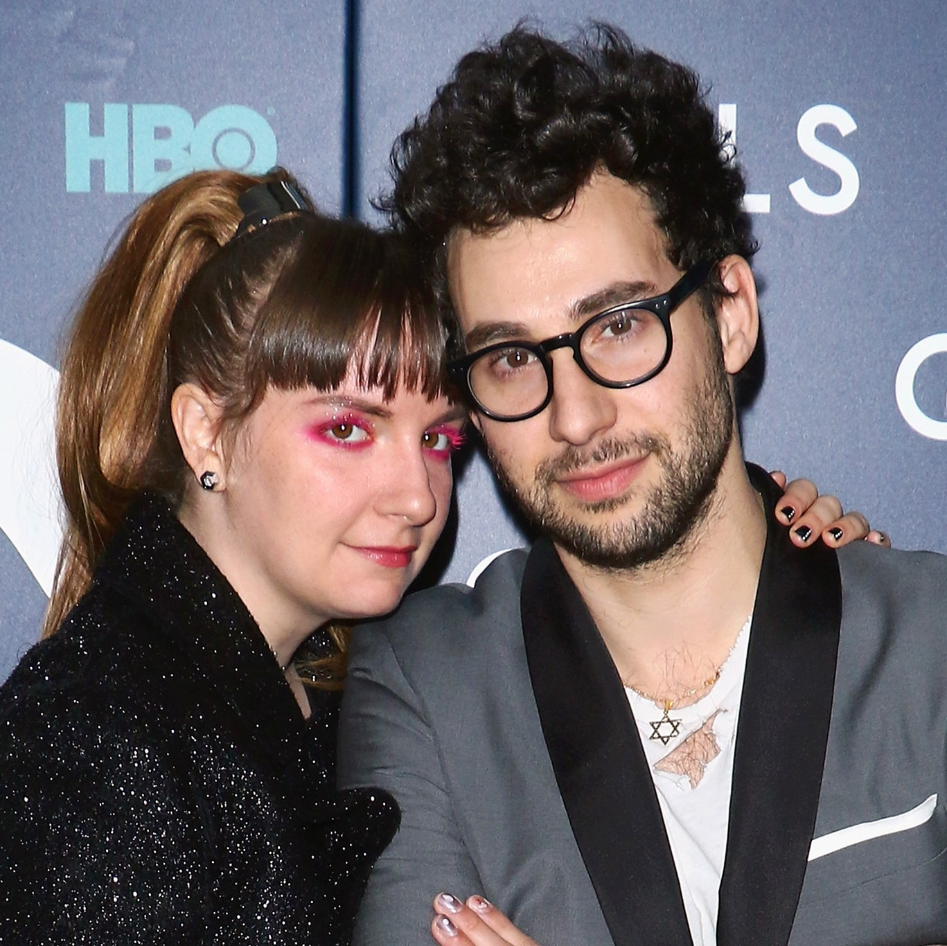 Lena Dunham and Jack Antonoff friendly exes
