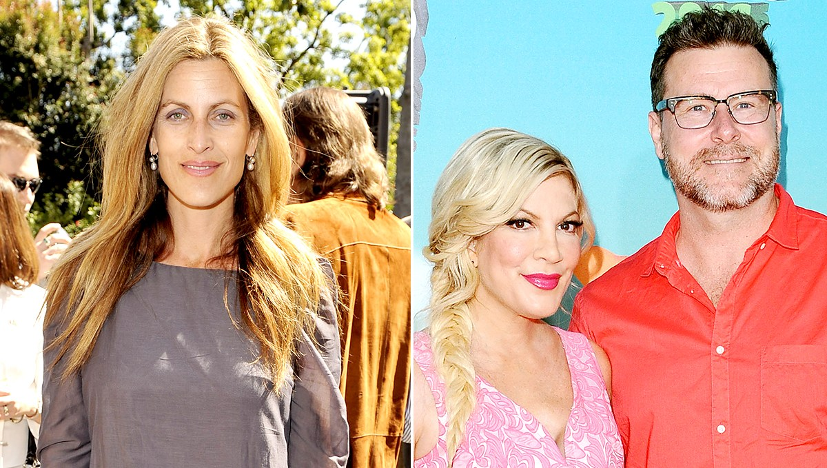 Mary Jo Eustace, Tori Spelling, and Dean McDermott