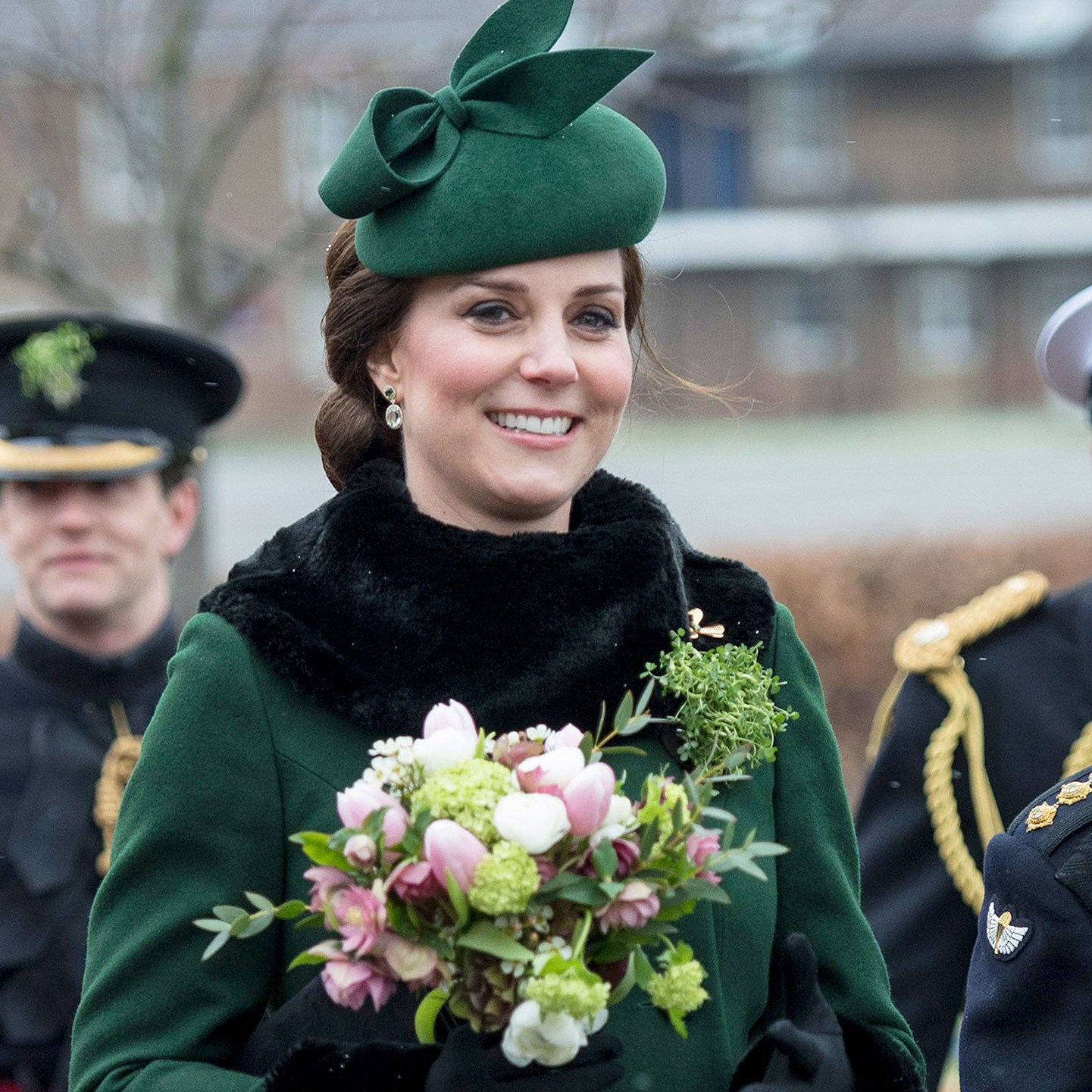 Prince William, Kate Middleton, Irish Guards St Patrick's Day Parade